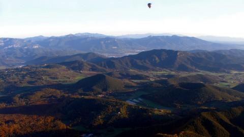 La Garrotxa, ecotourism amid volcanoes, between the Prynees and the Costa Brava